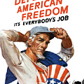 Defend American Freedom It's Everybody's Job by War Is Hell Store