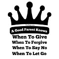 Definition Of A Good Parent by FirstTees Motivational Artwork