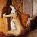 Degas: After The Bath by Granger