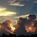 Degas Clouds #2 On Florida Sky by Alfred Blaho