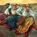 Degas: Dancing Girls, C1895 by Granger