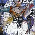 Degas Girl by Mykul Anjelo