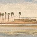Deir Kadige, 1 P.m., January 2, 1867 by Edward Lear
