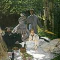 Dejeuner Sur Lherbe by Claude Monet