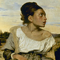 Delacroix: Orphan, 1824 by Granger