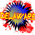 Delaware Comic Exclamation by Bigalbaloo Stock