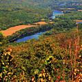 Delaware River From The Appalachian Trail by Raymond Salani III
