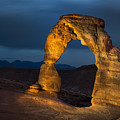 Delicate Arch At Night by Adam Romanowicz