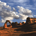 Delicate Arch In Arches National Park by Utah Images