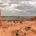 Delicate Arch Panoramic by Adam Romanowicz