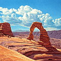 Delicate Arch by Paul Krapf