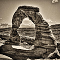 Delicate Arch by Roger Passman