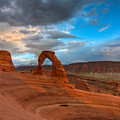 Delicate Arch Sunset by Jeff Clay