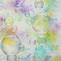 Delicate Bubbles by Karen Jane Jones