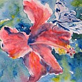 Delicate Butterfly by Corynne Hilbert