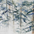 Delicate Pines by Lisa Schorr