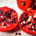 Delicious Pomegranate by Garry Gay
