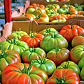 Delicious Tomatoes by Linda Unger