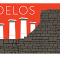 Delos - Orange by Sam Brennan