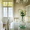 Demijohn And Window Color Cadiz Spain by Pablo Avanzini