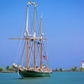Denis Sullivan - Fairport Harbor Lighthouse by Jack R Perry