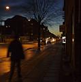 Denmark, Copenhagen, Man Walking by Keenpress