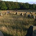 Denmark, Lindholm Hoeje Viking Burial by Keenpress
