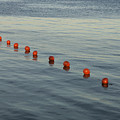 Denmark Red Safety Balls Floating by Keenpress