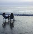Denmark, Romo, Two Young Women Relaxing by Keenpress