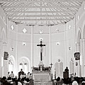 Dennery Church-st Lucia by Chester Williams