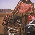 Dennis Hopper by Bryan Bustard
