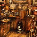 Dentist - The Dentist's Desk  by Mike Savad