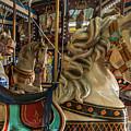 Dentzel Looff Carousel Horse Bob Seaside Nj by Terry DeLuco