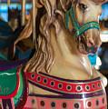 Dentzel Looff Carousel Horse Ken Seaside Nj by Terry DeLuco