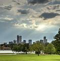Denver After The Rain by Joan Baker