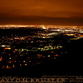 Denver Area At Night From Lookout Mountain by Clayton Bruster