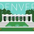Denver Cheesman Park/lt Blue by Sam Brennan