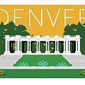 Denver Cheesman Park/gold by Sam Brennan