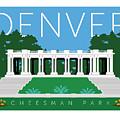 Denver Cheesman Park by Sam Brennan