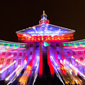 Denver City And County Building Lights by Tony Hake
