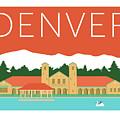 Denver City Park/coral by Sam Brennan