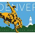 Denver Civic Center Park by Sam Brennan