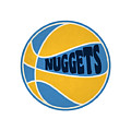 Denver Nuggets Retro Shirt by Joe Hamilton