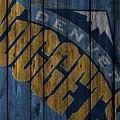 Denver Nuggets Wood Fence by Joe Hamilton