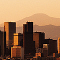 Denver Skyline 2003 by Robert VanDerWal