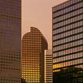 Denver Skyline Of Glass by Steve Mohlenkamp