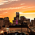 Denver Sunrise Iv by Jon Blake