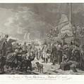 Departure Of Prince William V, 1795, Joannes Bemme, After Dirk Langendijk, After Christoffel Meijer, by Christoffel Meijer