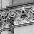 Depauw University East College Detail by University Icons