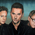 Depeche Mode Painting by Paul Meijering
